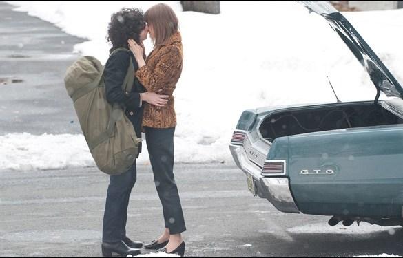 """John Magaro and Bella Heathcote in David Chase's """"Not Fade Away"""""""