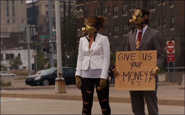 "A scene in Detroit in Heidi Ewing and Rachel Grady's documentary ""Detropia"""