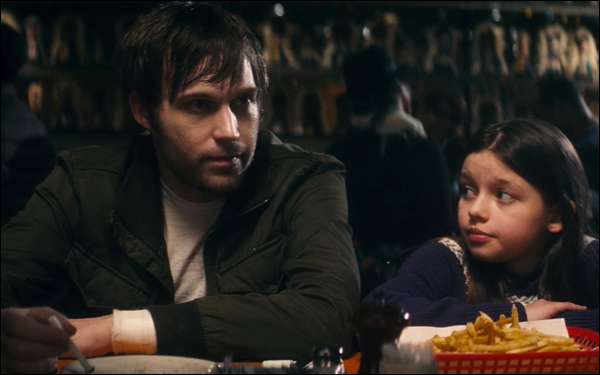 Shawn Christensen and Fatima Ptacek in the short film Curfew