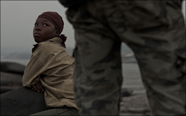 Rachel Mwanza in a scene from Kim Nguyen's film War Witch