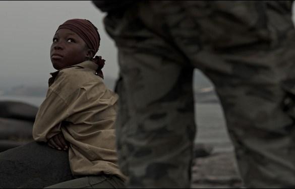 Rachel Mwanza in a scene from Kim Nguyen's film War Witch