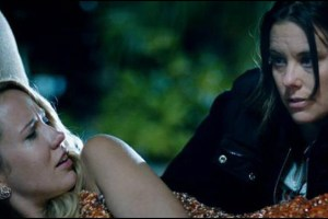 Anna Camp and Ashley Williams in Sarah Gertrude Shapiro's short film Sequin Raze