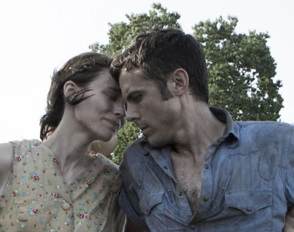 "Rooney Mara and Casey Affleck in David Lowery's movie ""Ain't Them Bodies Saints"""