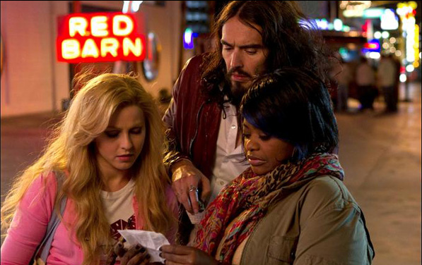 "Julianne Hough, Russell Brand and Octavia Spencer in Diablo Cody's film ""Paradise"""