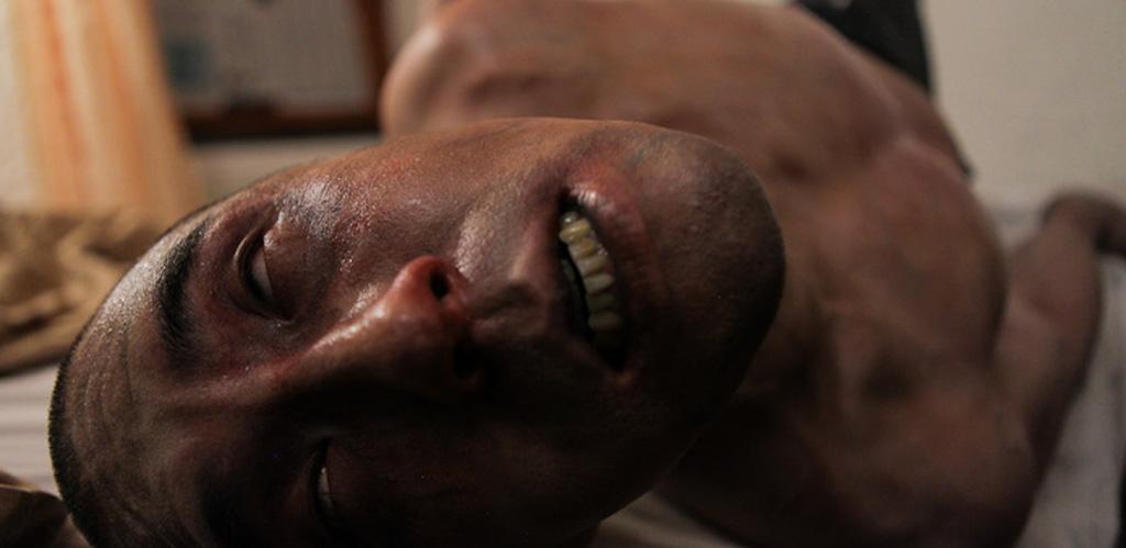 """Derek Lee in """"Afflicted"""""""