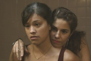 "Gina Rodriguez and Ana Ortiz in Nicole Gomez Fisher's ""Sleeping With the Fishes"""