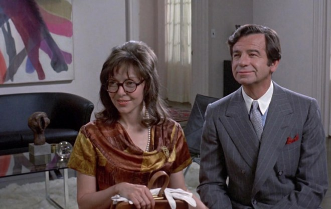 "Elaine May and Walter Matthau in ""A New Leaf"""