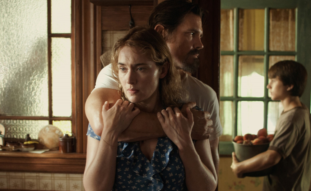 """Kate Winslet, Josh Brolin and Gattlin Griffith in """"Labor Day"""""""