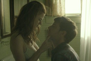 "Rose Leslie and Harry Treadaway in Leigh Janiak's ""Honeymoon"""