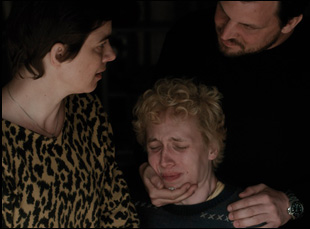 "Julius Feldmeier, Sascha Alexander Gersak, Annika Kuhl in ""Nothing Bad Can Happen"""