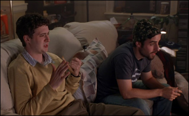 "Eddie Kaye Thomas and David Krumholtz in ""Harold and Kumar Go to White Castle"""
