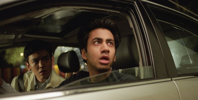 "John Cho and Kal Penn in ""Harold and Kumar Go to White Castle"""
