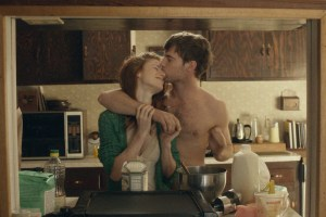 "Rose Leslie and Harry Treadaway in ""Honeymoon"""