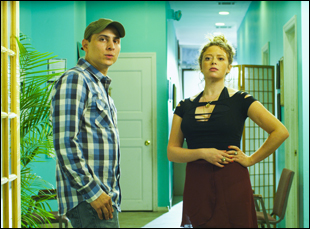 "Natasha Lyonne and Matthew Bonifacio in ""The Quitter"""