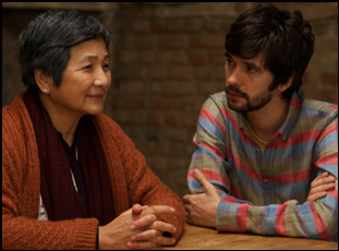 "Pei Pei Cheng and Ben Whishaw in ""Lilting"""