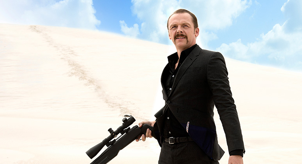 "Simon Pegg in ""Kill Me Three Times"""