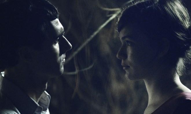 "Mark Leonard Winter and Tilda Cobham-Hervey in ""One-Eyed Girl"""