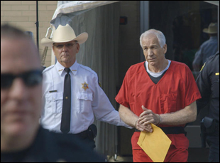 "Jerry Sandusky in ""Happy Valley"""