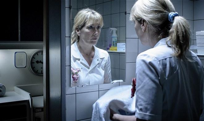 "Ariane Schluter in ""Accused"""