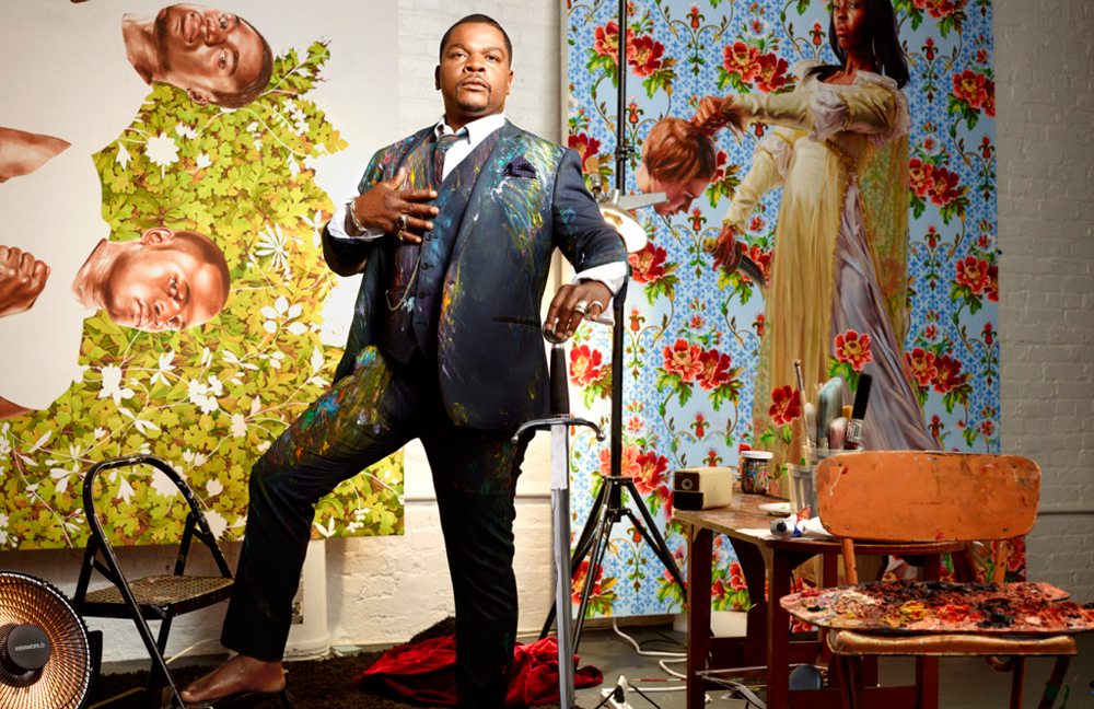 """Kehinde Wiley in """"Kehinde Wiley: An Economy of Grace"""""""