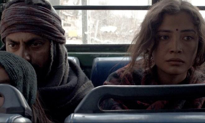 "Nawazuddin Siddiqui and Geetanjali Thapa in ""Liar's Dice"""