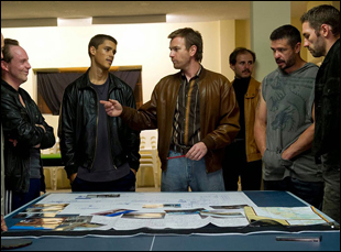 "Ewan McGregor, Nash Edgerton, Brenton Thwaites in ""Son of a Gun"""