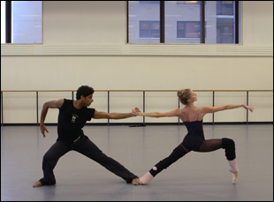 "A scene from Jody Lee Lipes' ""Ballet 422"""
