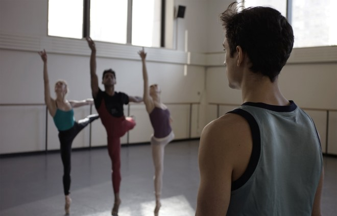 "Justin Peck in ""Ballet 422"""