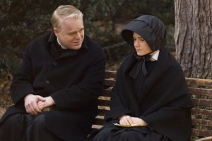 "Phillip Seymour Hoffman and Amy Adams in ""Doubt"""
