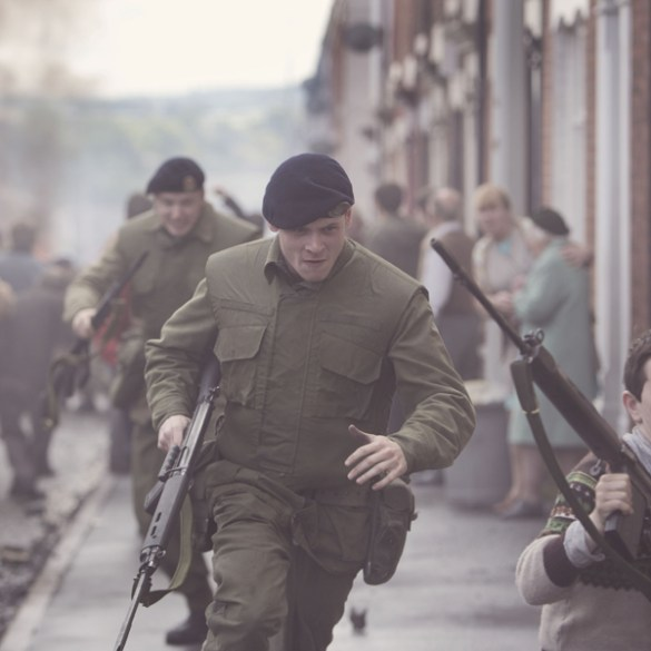 Jack O'Connell in Yann Demange's '71
