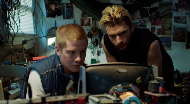 """Josh Caras and Ian Christopher Noel in """"Jackrabbit"""""""