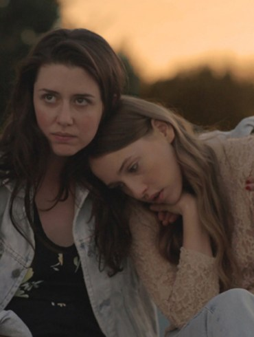 """Zoe Worth and Sarah Sutherland in """"Shut Up and Drive"""""""