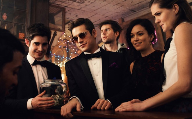 "Jonathan Gordon, Jason Ralph, Britt Lower, Meghann Fahy in ""Those People"""