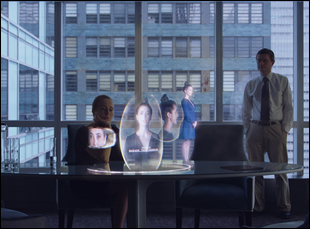 "A scene from Jennifer Phang's ""Advantageous"""