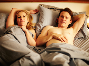"Kate Mulvany and Damon Herriman in ""The Little Death"""