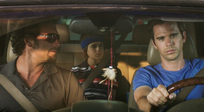 "Jeremy Sisto, Joshua Rush and David Walton in ""Break Point"""