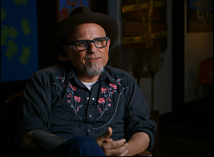 "Bobcat Goldthwait in ""Call Me Lucky"""