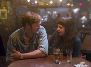 "Alexander Skarsgard and Bel Powley in ""Diary of a Teenage Girl"""