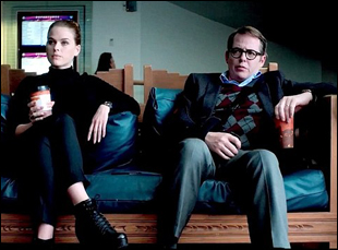 "Alice Eve and Matthew Broderick in ""Dirty Weekend"""