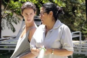 "Regina Case and Camila Mardila in ""The Second Mother"""