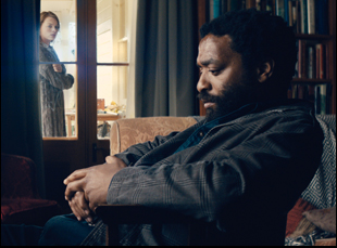 "Margot Robbie and Chiwetel Ejiofor in ""Z for Zachariah"""