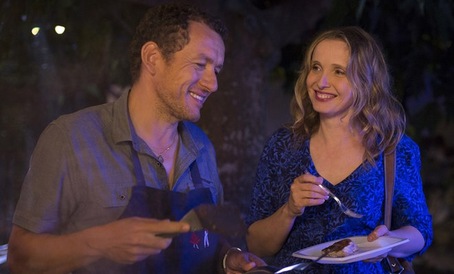 "Dany Boon and Julie Delpy in ""Lolo"""