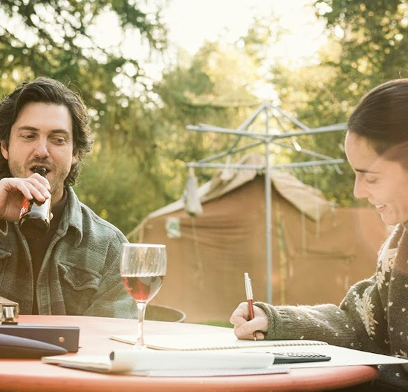 "Maxim Gaudette and Valerie Cadieux in ""Our Loved Ones"""
