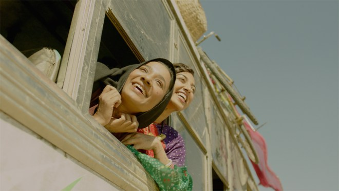 """Tannissha Chatterjee in """"Parched"""""""