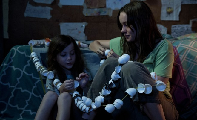 """Jacob Tremblay and Brie Larson in """"Room"""""""