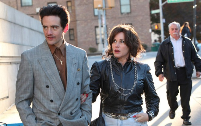 """Vincent Piazza and Patricia Arquette in """"The Wannabe"""""""