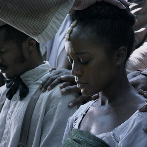 """Nate Parker and Aja Naomi King in """"Birth of a Nation"""""""