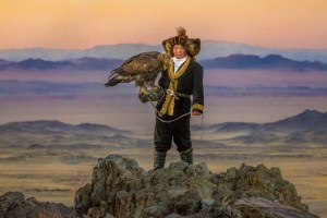 "Aisholpan in ""Eagle Huntress"""