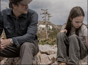 "Ross Partridge and Oona Laurence in ""Lamb"""