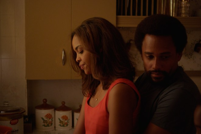 """Sharon Leal and Hill Harper in """"1982"""""""